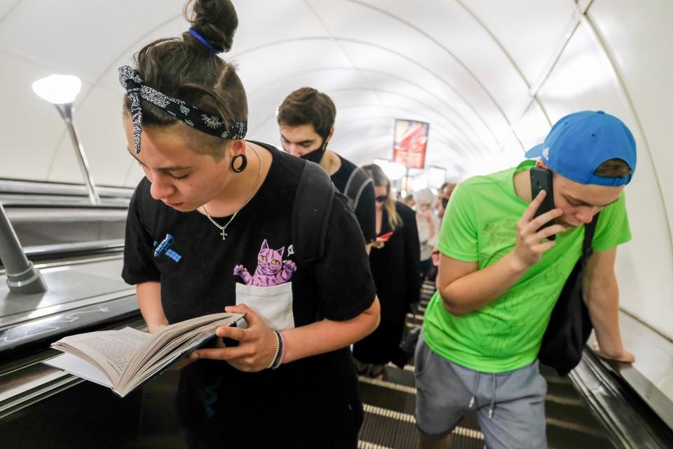 В метро Петербурга может стать больше нарушений, за которые будут штрафовать