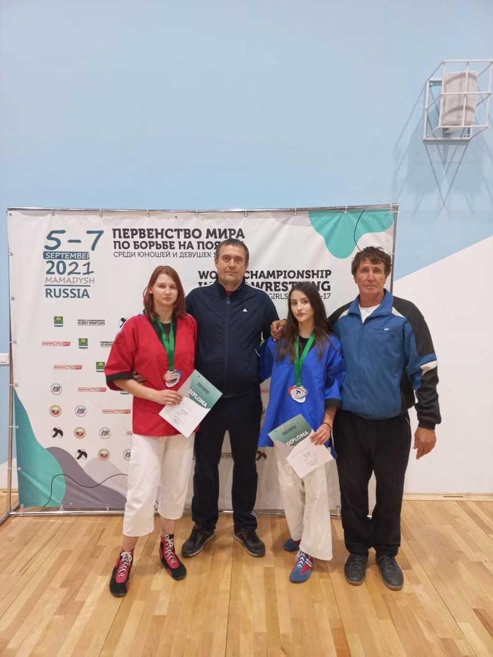 Девушки вошли в сборную пос итогам первенства России