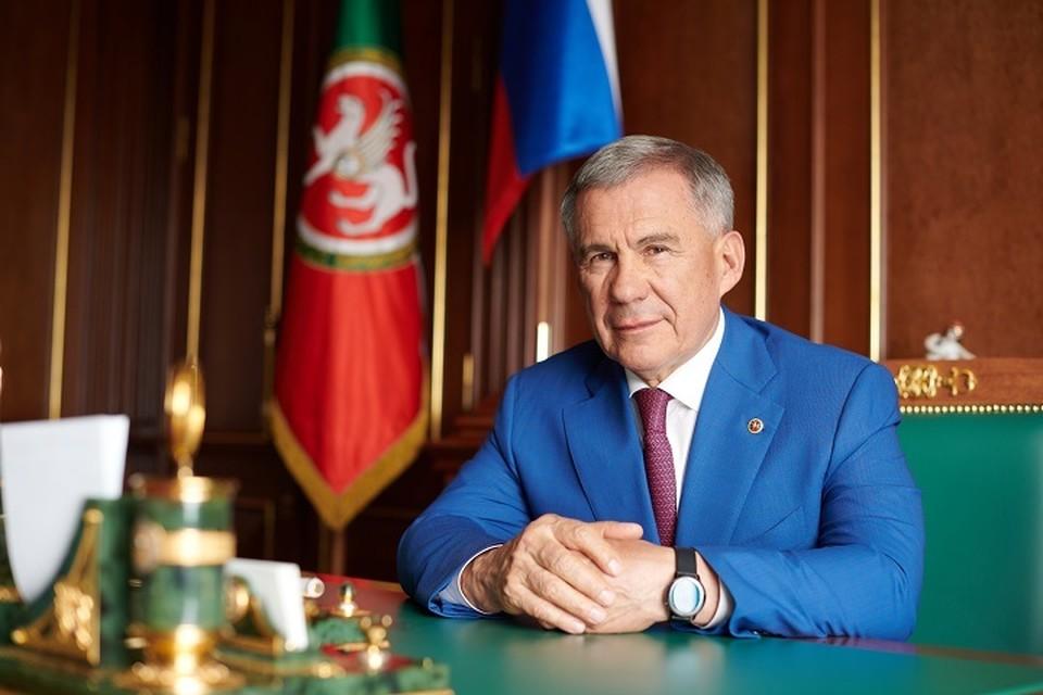 Глава региона отметил, что у аграриев есть проблемы - лето было засушливым. Фото: president.tatarstan.ru