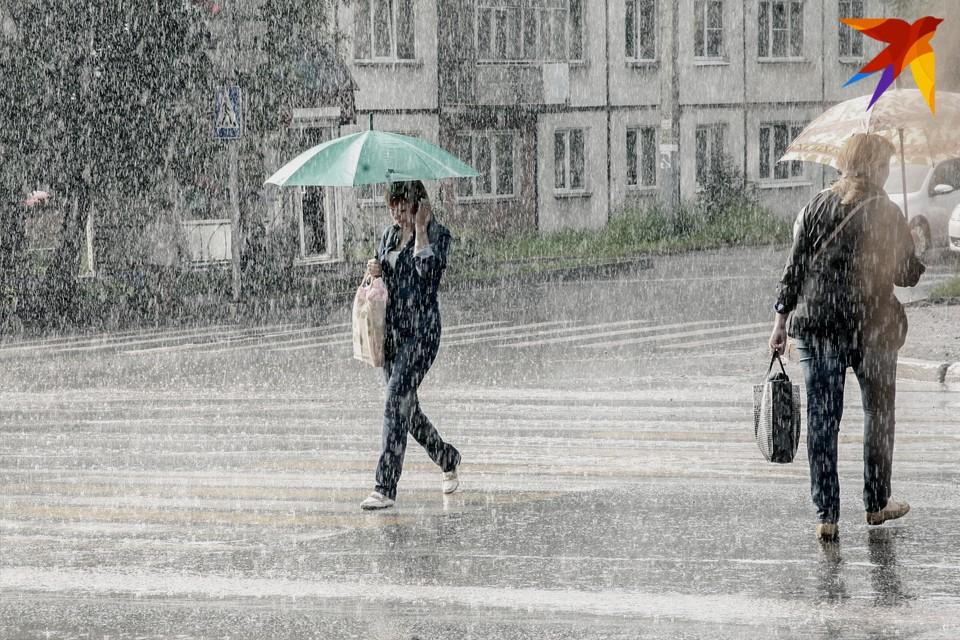 Ижевск ожидает дождливая неделя