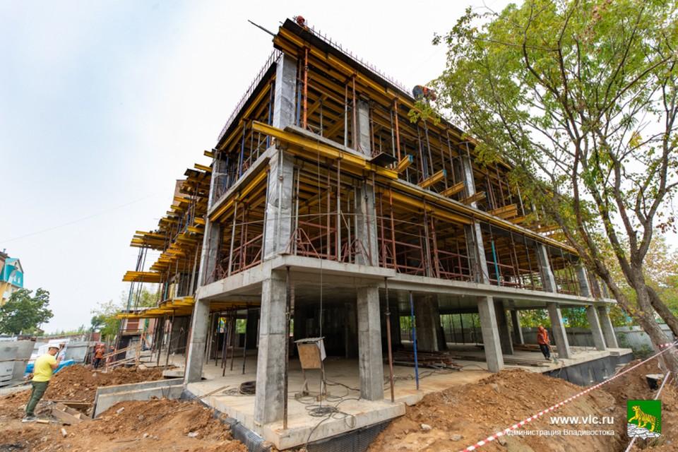 Строительство на Глинки закончат до конца года