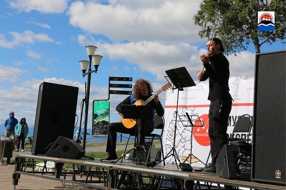 «Музыкальная экспедиция» два дня радовала жителей Камчатки
