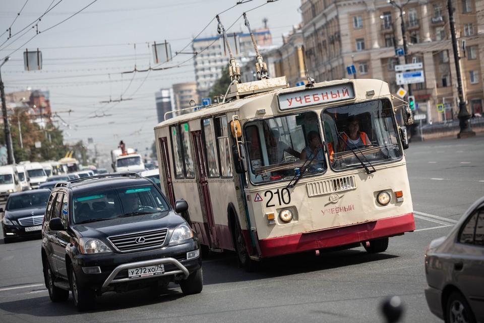 Троллейбусный парк в городе не обновлялся много лет
