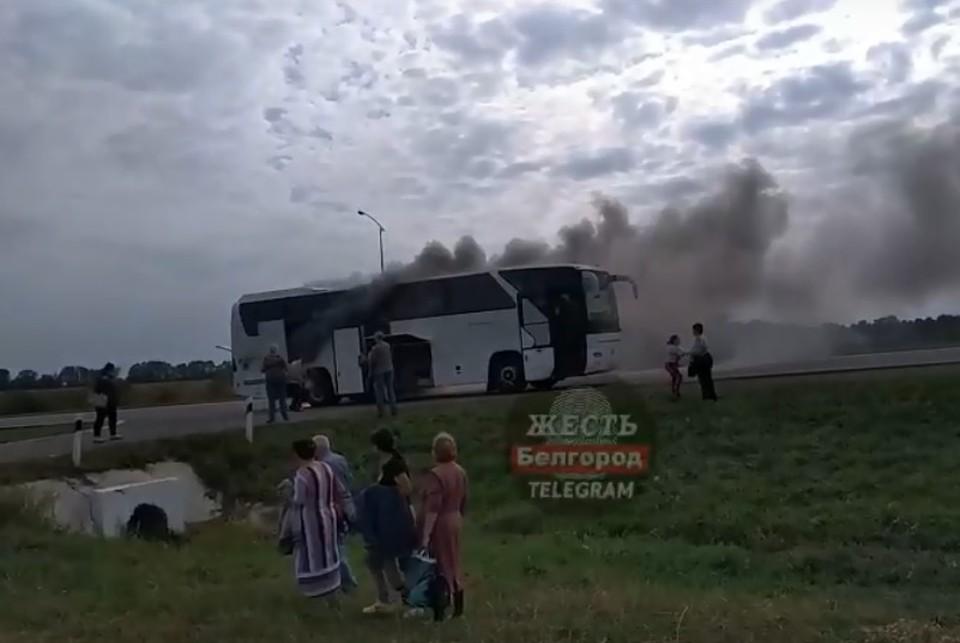 Во время происшествия, к счастью, никто не пострадал. Фото: телеграм-канал жесть Белгород