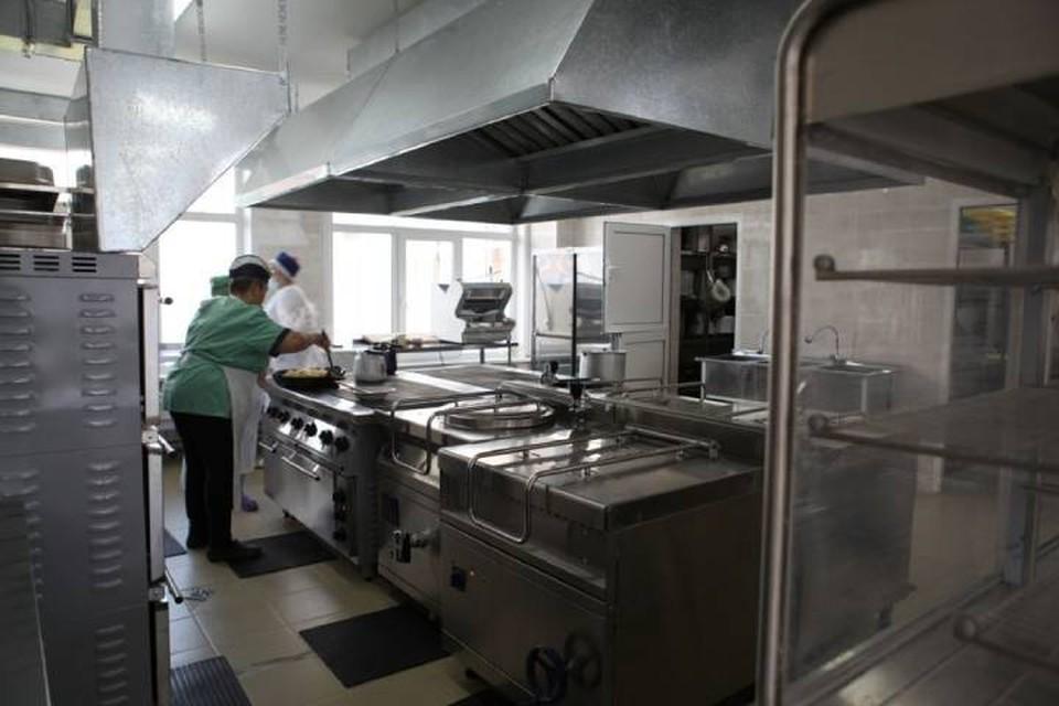 Новый пищеблок начал работать в иркутской школе №14. Фото: Пресс-служба администрации Иркутска.