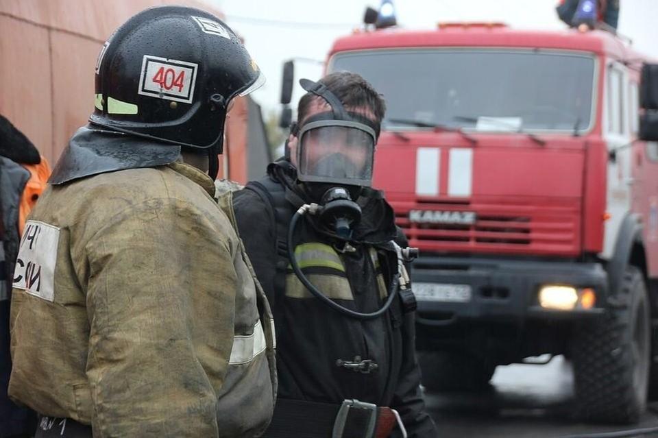 Пожар произошел на улице Луночарского.