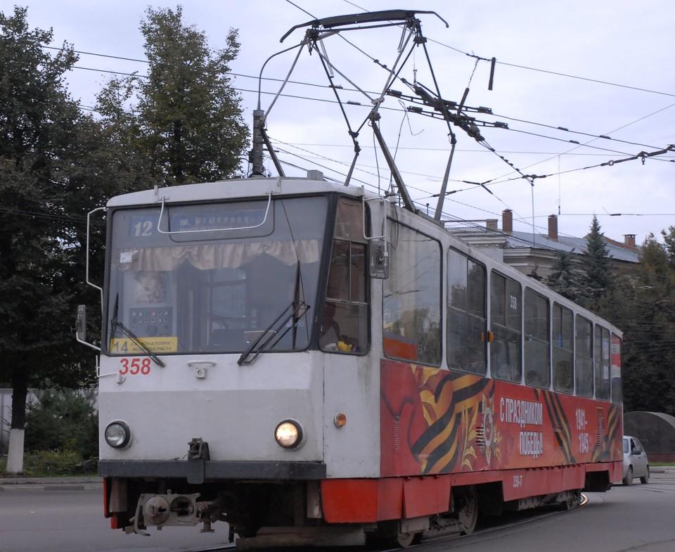 В Туле на улице Металлургов произошло ДТП с участием пешехода и трамвая