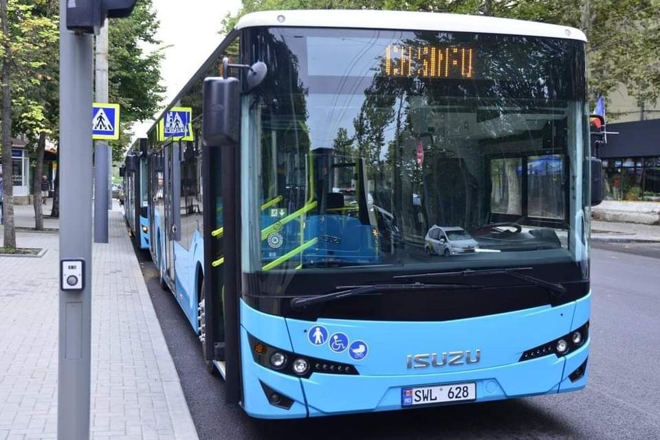 Новые автобусы свяжут Кишинев и пригород. Фото: t.me/ionceban