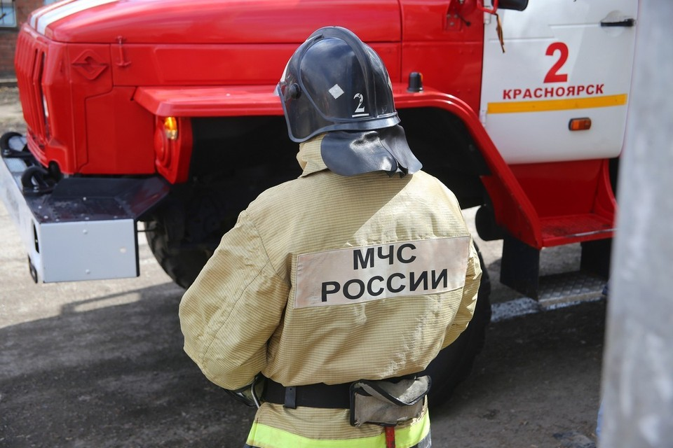 В Красноярском крае при пожаре погибла женщина