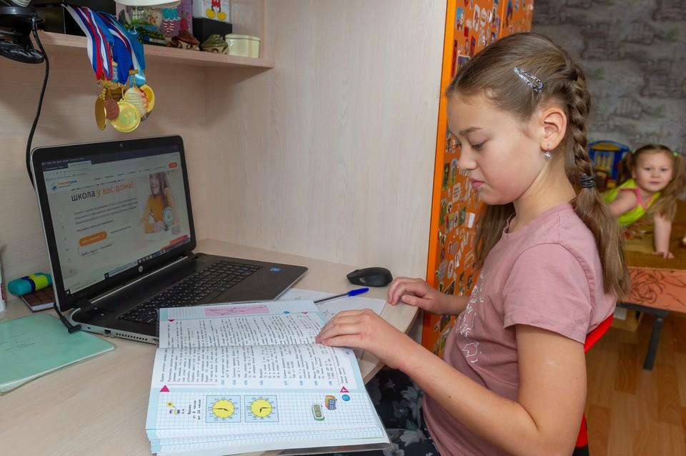 21 класс в 18 школах Петербурга находится на удаленке