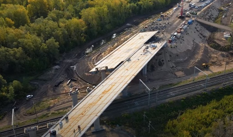 Новый путепровод появится у Фрунзенского моста. Фото - скриншот