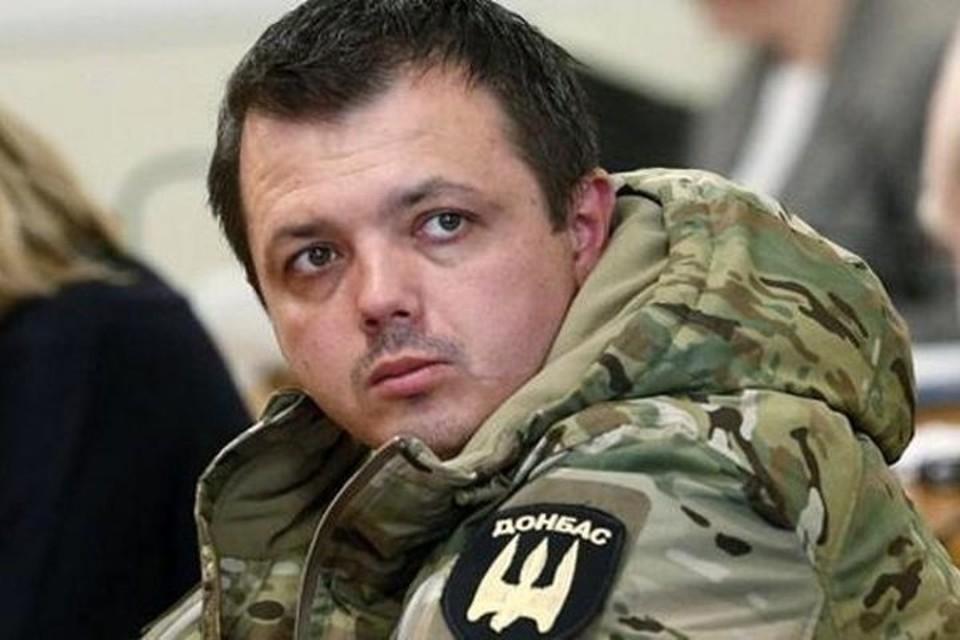 Гришин-Семенченко в 2014 году командовал карательным батальоном. Фото: Личный архив Семена Семенченко