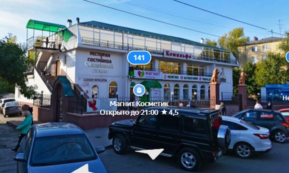 Сейчас на данном участке расположена гостиница и ресторан. Фото: Яндекс.Карты