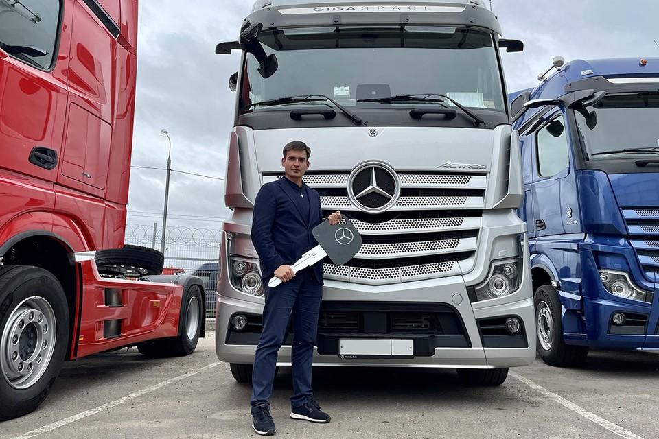 Первые беспилотные грузовые перевозки начнут осуществлять уже в конце 2021 года. Фото: BaceTrack
