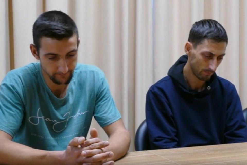 Задержанные Азиз и Асан Ахтемовы. Фото: скриншот из видео ФСБ РФ