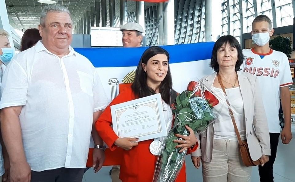 Крымска спортсменка Ани Палян завоевала серебряную медаль на Паралимпийских играх в Токио