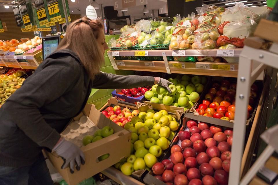 Меньше всего цены снизились на бананы - только 4,4%.