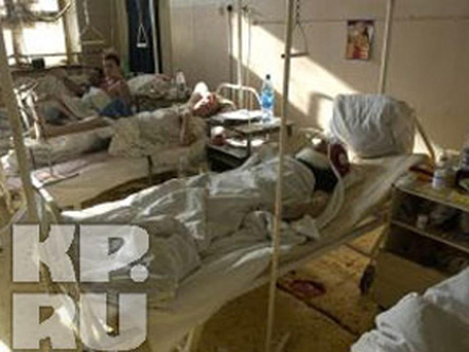 Детей на скорой отправили в больницу