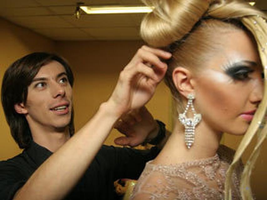 фото причесок с косами на среднюю длину