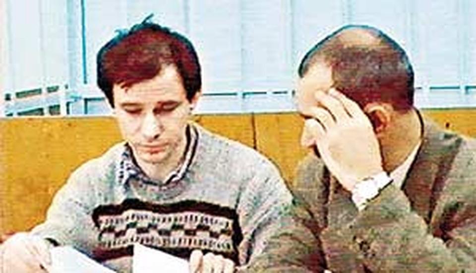 Игорь Сутягин в зале суда.