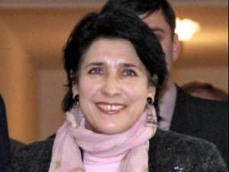 """Экс-министр иностранных дел Грузии, лидер политической партии """"Путь Грузии"""" Саломе Зурабишвили"""