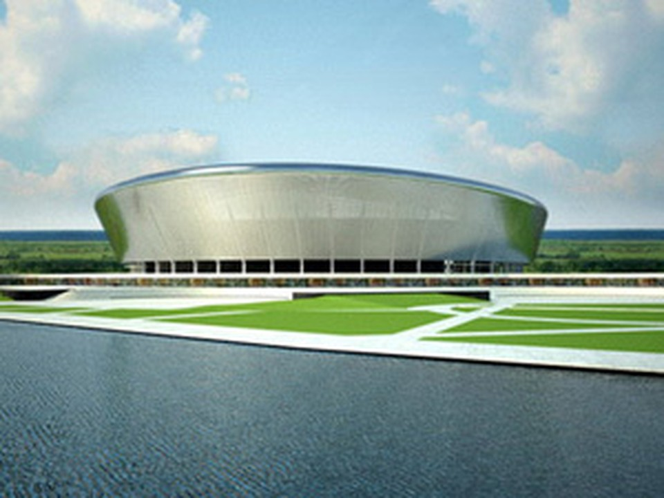 Стадион на Гребном канале так и останется красивым проектом.