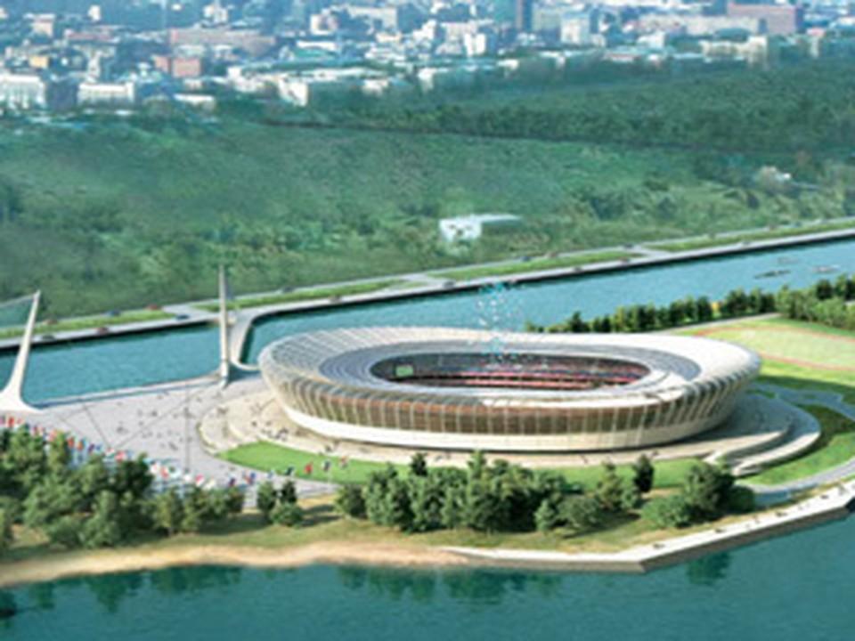 Проект стадиона уже есть, а площадки для их строительства - нет.