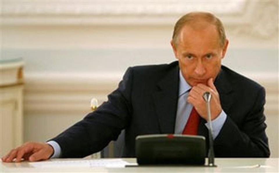 Премьер РФ Владимир Путин. Фото: АР