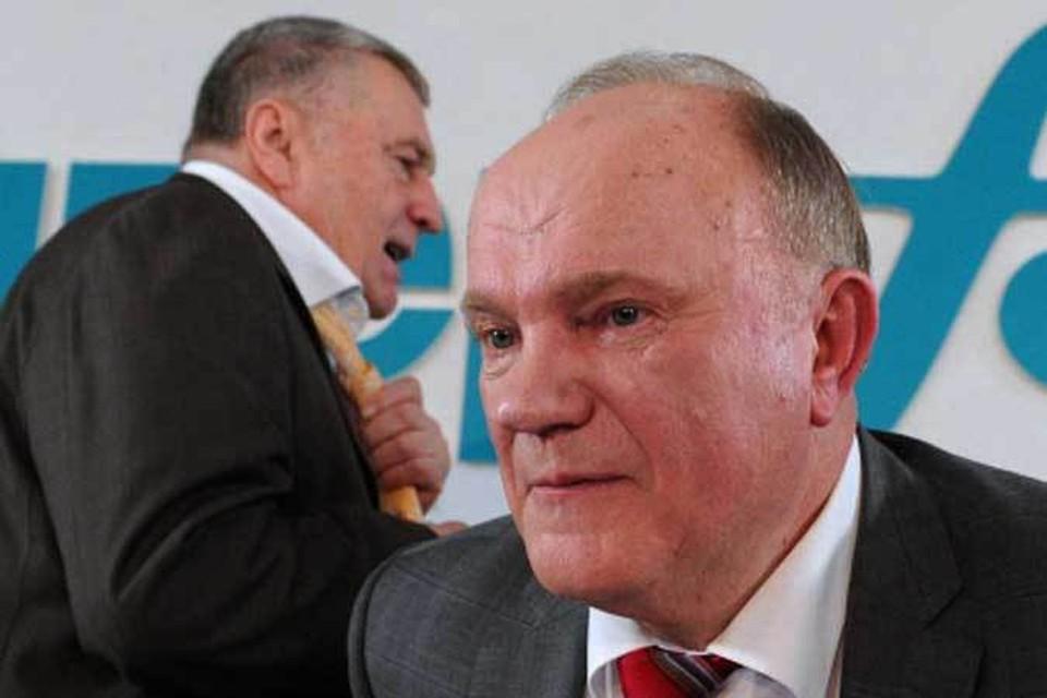 Вождь ЛДПР заступился за главного коммуниста и отчитал блогера-депутата