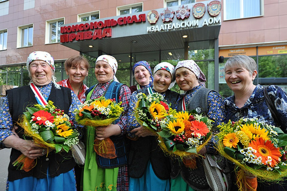 Читатели «Комсомолки» пообщались с «Бурановскими бабушками»