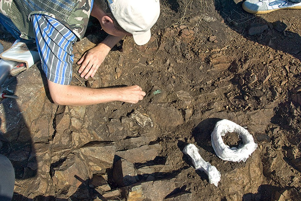 Этот тайник кочевники сделали в средние века, а археологи раскопали в ХХI веке.
