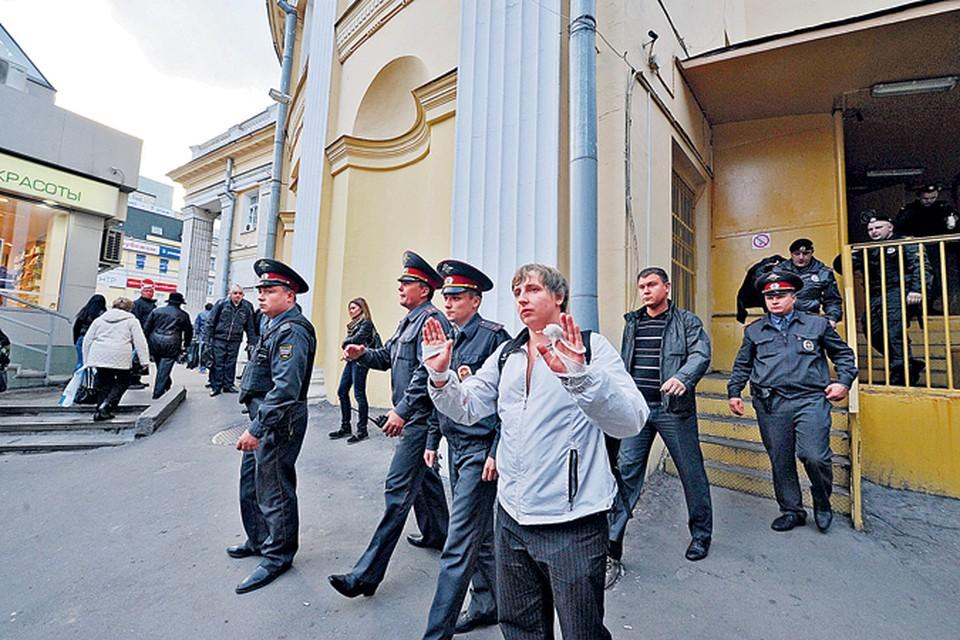 Полиция сопровождала  пострадавшего Кирилла Панченко до самого Ленинградского вокзала.