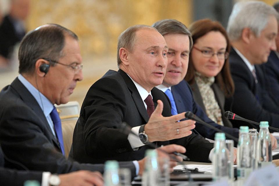 Пресс-конференция по итогам российско-германских межгосконсультаций на высшем уровне президент РФ Владимир Путин