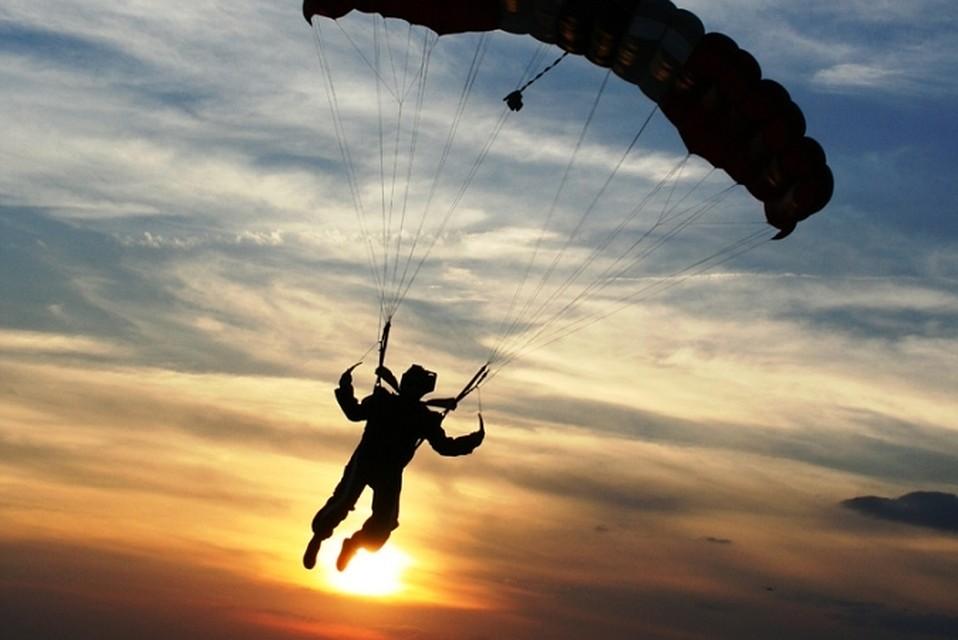 Днем рождения, картинка с днем рождения парашютисту