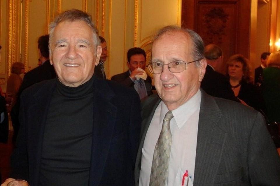 Николай и Игорь Сикорские на приеме в Генконсульстве РФ в Нью-Йорке