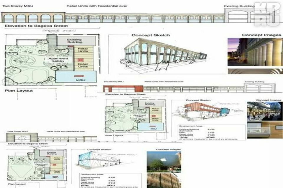 Несмотря на то, что согласования по строительству только начались, проект будущей галереи можно увидеть уже сейчас