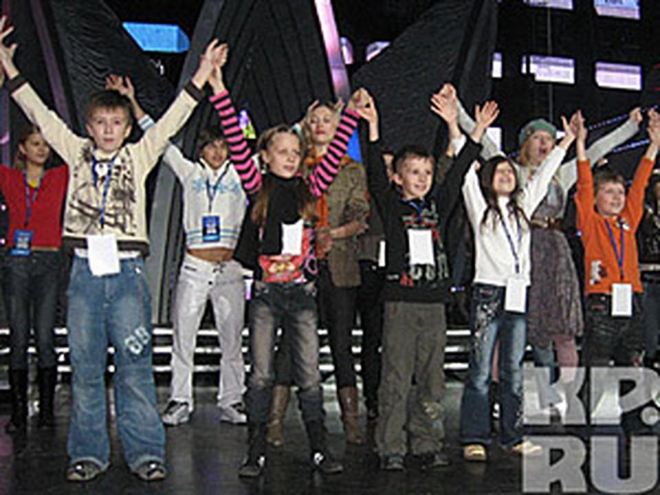 Группа «Барбарики» (на переднем плане).