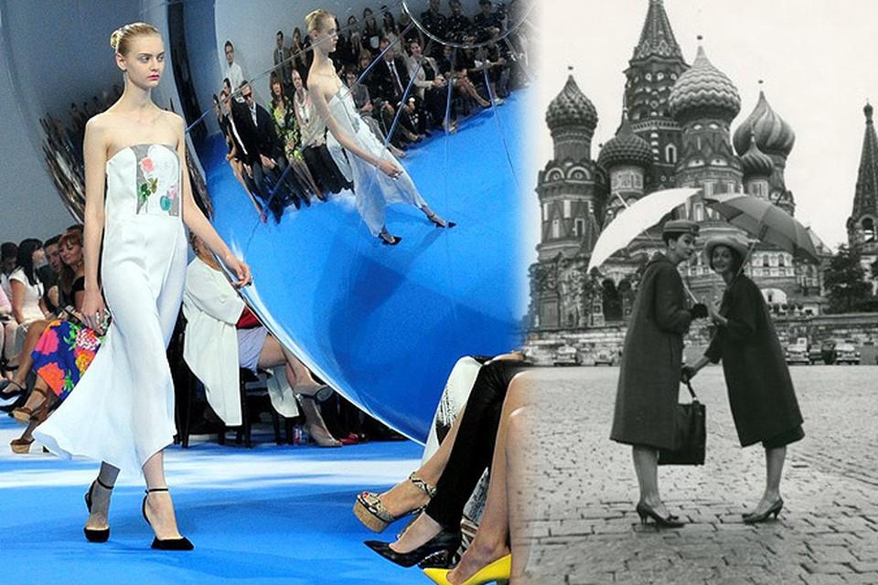 Легендарный показ мод от Диора повторили на Красной площади спустя 54 года