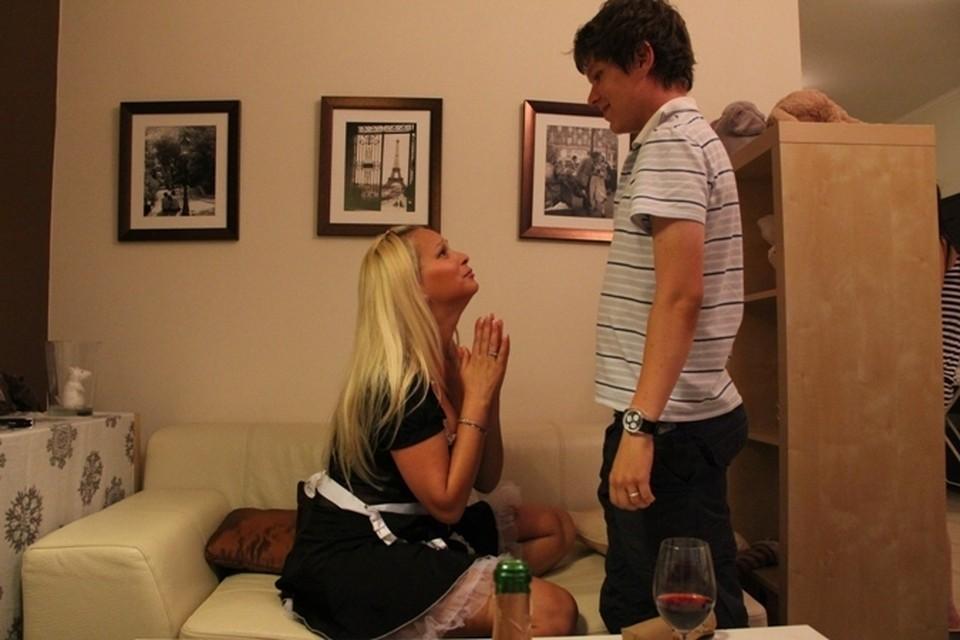 На этом фото Андрей и Виолетта в тех самых кольцах с бриллиантами за 150 тысяч рублей