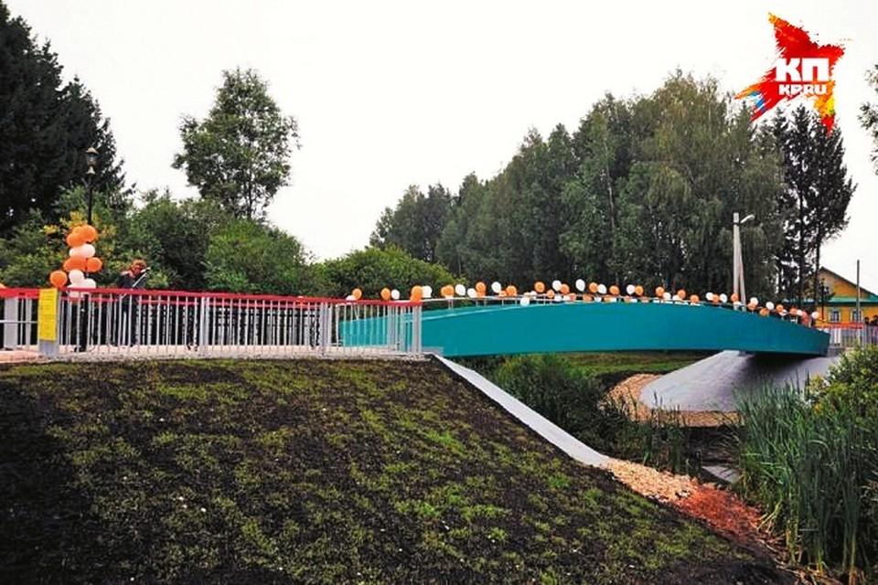 Мост открывали с большой помпой. Но, похоже, на его технических характеристиках можно было сэкономить