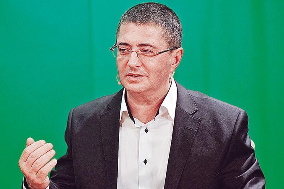«Кремлевский» доктор Александр Мясников.