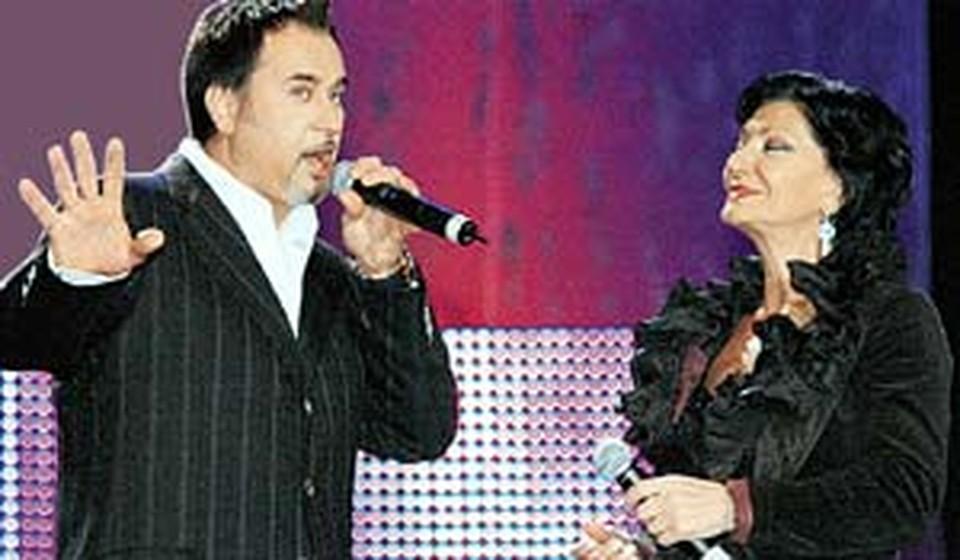 С Ротару, «ВИА Грой» и Нани Брегвадзе прекрасно поется красавцу Меладзе.