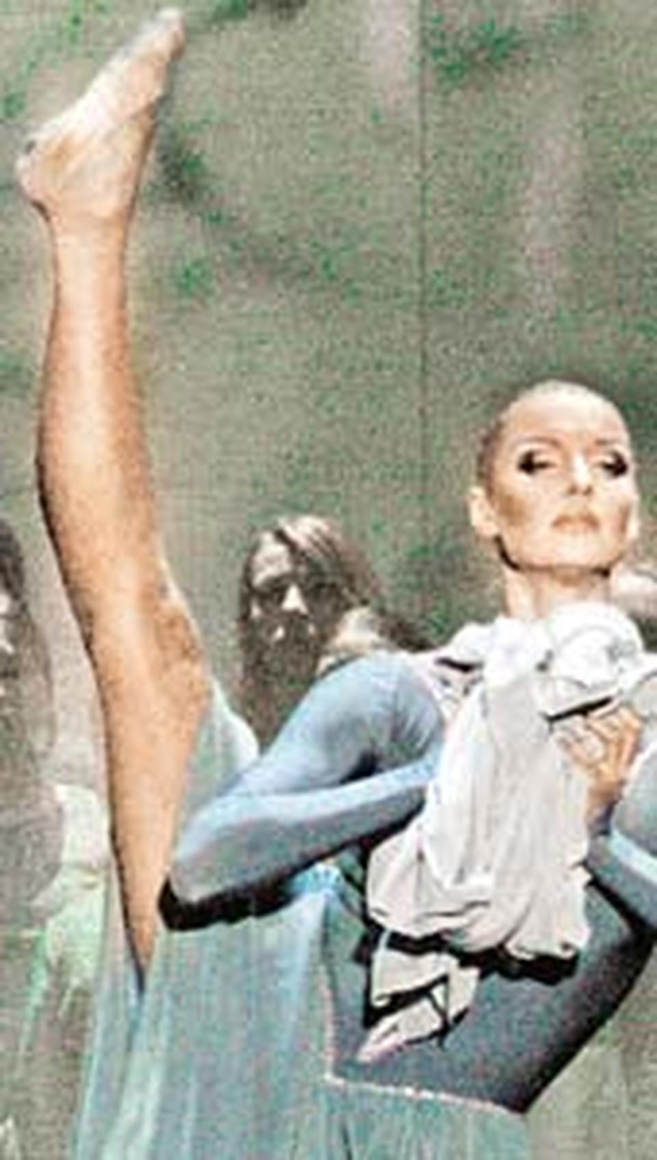 Красноярские балетоманы не увидели ни ножки Волочковой, ни ручки, ни даже личика.