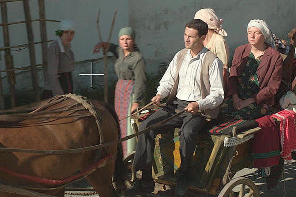 Ирина Рахманова и Антон Макарский сыграли в сериале супружескую пару - Вангу и ее молодого мужа Димитра