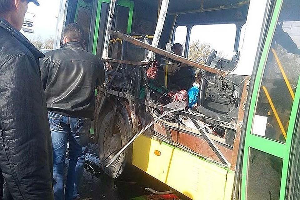 нога взрыв автобуса в волгограде откровенно снимал