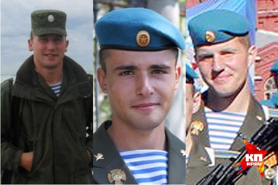 Слева направо: Иван Захаров, Антон Соловьев и Михаил Пасканный.