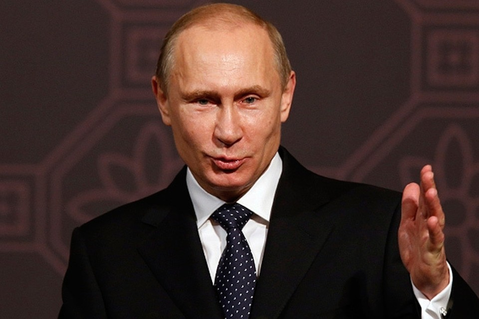 """Путин награжден в Корее """"почетным девятым даном по тхэквондо"""""""