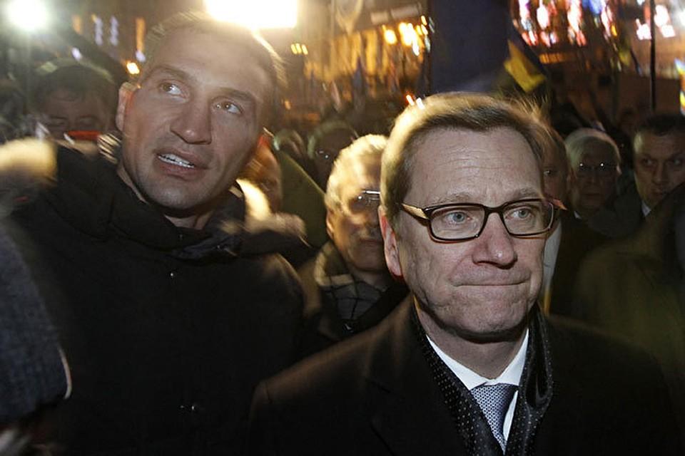 Министр иностранных дел германии гомосексуалист