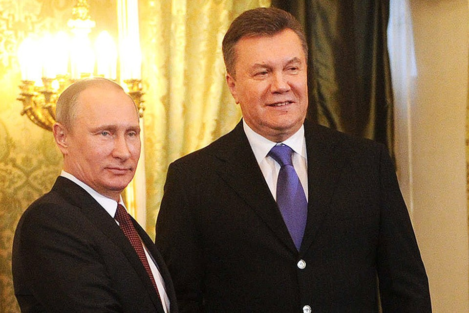 Путин и Янукович договорились о снижении цены на газ