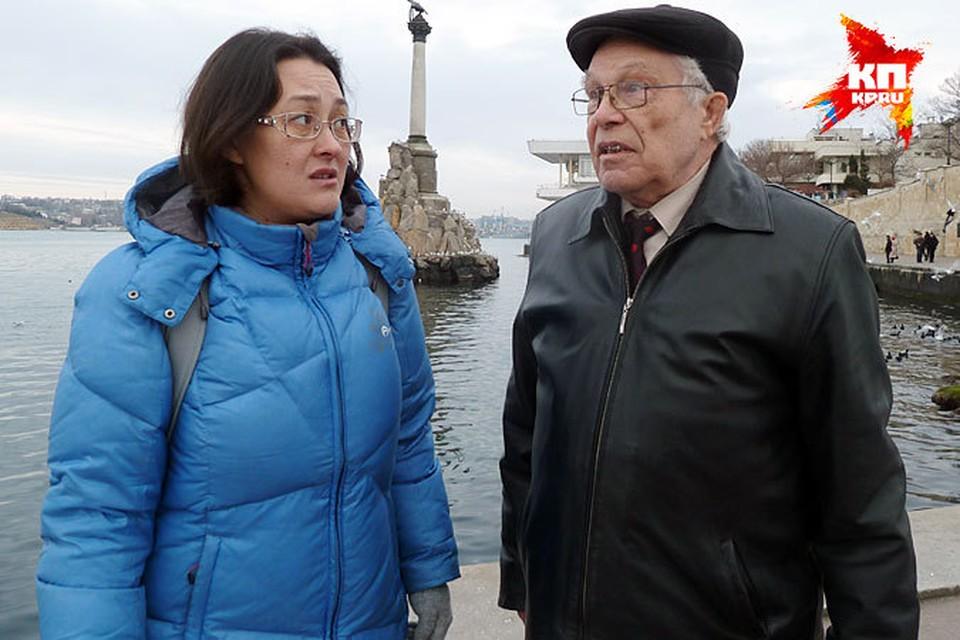 Владимир Аскинадзи делится с Натальей Ко своими воспоминаниями